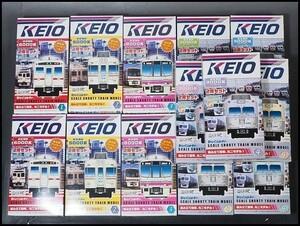 未開封 Bトレイン ショーティー 13箱 1~4 京王電鉄 KEIO 列車 鉄道模型 2688
