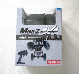 京商 ミニッツ4×4 レディセット スズキ ジムニーシエラ ジャングルグリーン 32523GR Jimny MINI-Z