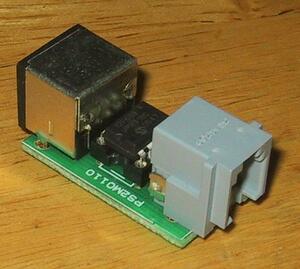 MAC128K/512K/Plusキーボード PS/2変換器 PS2M0110 PS/2ケーブル付①