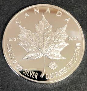 メイプルリーフ シルバーコイン  カナダ 海外記念硬貨