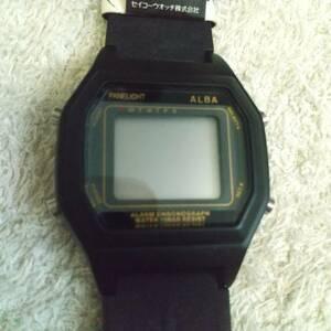 珍品 ALBA デジタル 腕時計