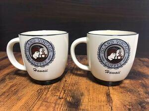 アイランドヴィンテージコーヒー マグカップ ペア ハワイ island vintage coffee