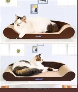 愛猫のストレス解消に最適♪ベッドにもなる☆猫用爪とぎ