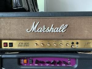 Marshall JCM800 super bass 激レア!