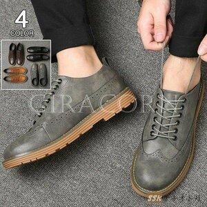 新品ビジネスシューズ 革靴 メンズ プレーントゥ ドライビングシューズ 紳士靴 通勤シューズ カジュアルシューズ