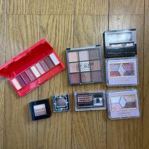アイシャドウ 化粧品 メイクパレット セット まとめ売り KATE キャンメイク MISSHA 7点セット コスメセット