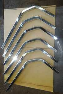 stainless steel #400 side bumper side guard stay 6ps.@ all-purpose not yet processing unused scratch equipped