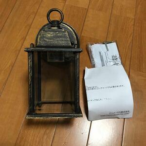 アンティーク調 玄関ライト・ポーチライト(新品) ランプ付き 100V /100W No.1