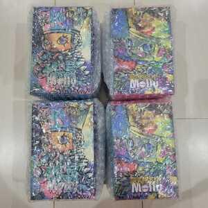 Kennyswork × INSTINCTOY Baby Erosion Molly Pink Sapphire2nd Edition & Baby ice Erosion Molly 2nd Editiongreen 4体セット pop mart