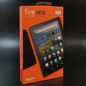 Fire HD 8 タブレット ホワイト 32GB 第10世代 / 箱の右側面が若干折れています