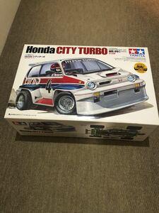 タミヤ 1/10 ホンダ Honda CITY TURBO シティターボ WR-02Cシャーシ未組立