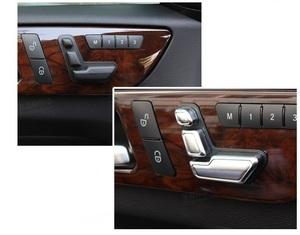 メルセデス ベンツ サテンシルバー シートスライダー カバー W218 C218 CLS350 CLS550 CLS63 CLSクラス クーペ