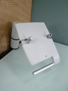 中古 サンワサプライ テレフォンスタンド 電話台 MR-TEL1 傾斜・位置変更可能 デスク