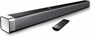 新品37Inch BOMAKER サウンドバー テレビスピーカー ホームシアター 110 dB 2.0ch 高音質 3BJ9