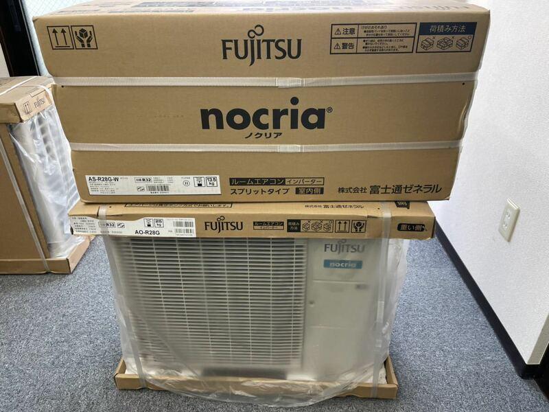新品 メーカー保証有 富士通 エアコン AS-R28G 10畳用 100V