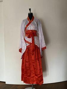 コスプレ衣装 コスプレ 時代劇 漢服 劇団衣装 中国衣装 赤黒 チャイナ ハロウィン 格安