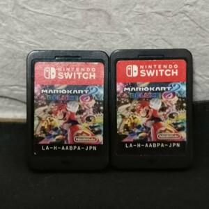 Nintendo Switch ニンテンドースイッチ マリオカート8デラックス 2つお得セット♪♪