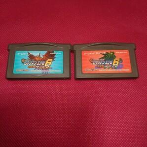 ロックマン6 2枚セット GBA