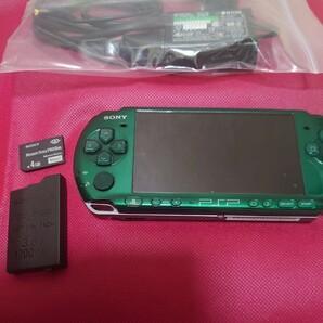 PSP-3000 グリーン SONY