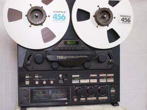 Blue Tamo 清潔美品 TEAC『X-2000M 』 2トラ38 マスターデッキ   新品ヘッドに交換  整備 & 音声調整済   音質 動作共に最高