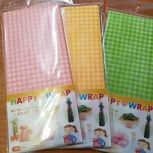 新品包装紙ラッピング3種類