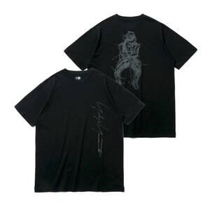 定価17600円 ■ Yohji Yamamoto New Era 21SS S/S YY PRINT COTTON TEE Tシャツ プリント カットソー ヨウジヤマモト ニューエラ ■ XXL