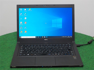 中古/軽量/13型/ノートPC/Windows10/SSD128GB/4GB/4世代i5/NEC VG-J リカバリー領域 office搭載 動作良品