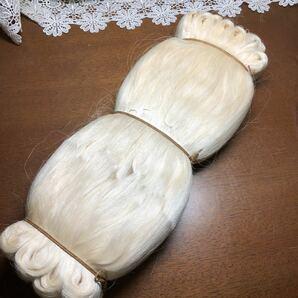 絹糸 縫い糸 お人形の髪 人形の髪の毛にも 糸 手芸用品 ホームソーイング ハンドメイド素材 シルク糸