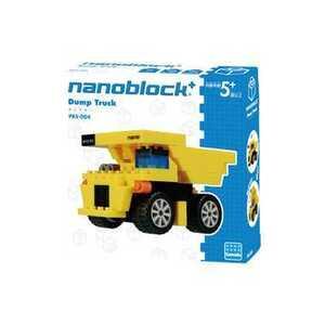 ナノブロック プラス PBS-004 nanoblock+ ダンプカー nanoblock nanoブロック マメログ mamelog ダイヤブロック おもちゃ 知育玩具