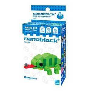 ナノブロックプラス PBM-003 カメレオン nanoblock+ nanoブロック おもちゃ 知育玩具