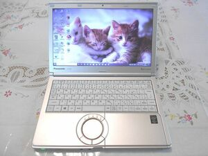 ★ほぼ美品★ Panasonic Let's note CF-SX2 Core i5/8GB/SSD120GB/Windows10 Pro/Office2019 NO,0905