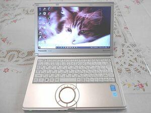 ★美品★ Panasonic Let's note CF-NX3 Core i5/8GB/新品SSD240/Windows10 Pro/Office2019 NO,0906