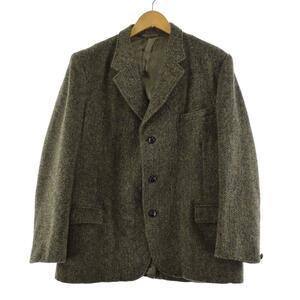 70年代 ハリスツイード Harris Tweed ウールテーラードジャケット メンズM ヴィンテージ /eaa194362