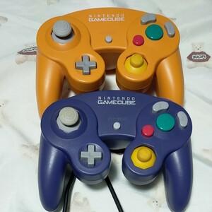 任天堂 ゲームキューブコントローラ2個セット