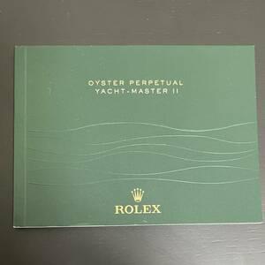 ロレックス Rolex 説明書 ヨットマスターⅡ