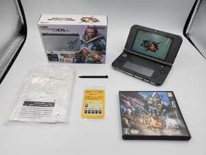 1円★ 任天堂 Newニンテンドー3DS LL モンスターハンター4G スペシャルパック 動作確認済み モンハン Nintendo New3DSLL ニンテンドー