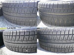 205/55R16 91Q BRIDGESTONE BLIZZAK REVOGZ 16インチ スタッドレス タイヤ バリ山 4本 ブリヂストン
