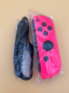 Nintendo switch ニンテンドースイッチ Joy-Con ジョイコン (R) ネオンピンク ストラップ付き