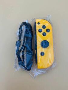 Nintendo switch ニンテンドースイッチ Joy-Con ジョイコン (R) ネオンオレンジ ストラップ付き
