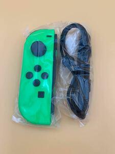 Nintendo switch ニンテンドースイッチ Joy-Con ジョイコン (L) グリーン ストラップ付き