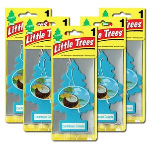 リトルツリー カリビアン コラーダ 5枚セット Little Trees 芳香剤 車 部屋 吊り下げ USA エアフレッシュナー【メール便 送料無料】