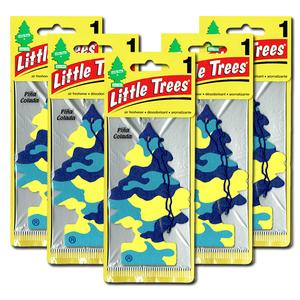 リトルツリー ピナコラーダ 5枚セット Little Trees 芳香剤 車 部屋 吊り下げ USA エアフレッシュナー【メール便 送料無料】