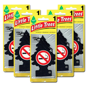 リトルツリー ノースモーキング 5枚セット Little Trees 芳香剤 車 部屋 吊り下げ USA エアフレッシュナー 禁煙【メール便 送料無料】