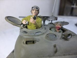 タミヤ1/35 アメリカ戦車兵2体完成品