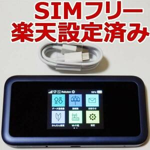 801HW SIMフリー/楽天モバイル設定済 モバイルルーター