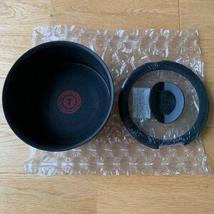 T-fal インジニオネオ IH ウォールナット エクセレンス ソースパン16cm ガラス蓋セット
