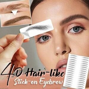 3d imitation ecological waterproof eyebrows、ウォータープルーフアイブロウ、アイブロウ