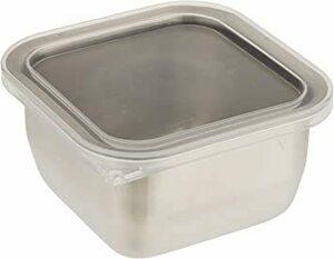 ステンレス ミニ 和平フレイズ 日本製 フードストッカー ミニ 常備菜 作り置き 保存容器 ステンレス製 ジー・クック GC-2
