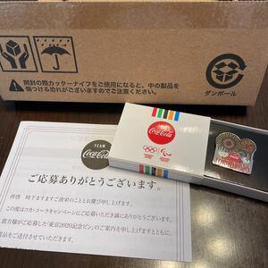 東京オリンピック コカコーラ コークオン ピンバッジ ピンバッチ 花火 TOKYO2020