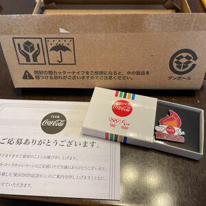 東京オリンピック コカコーラ コークオン ピンバッジ ピンバッチ 聖火 TOKYO2020